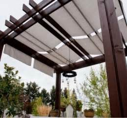 Pergola Fabric Shade by Pergola And Patio Covers Freestanding But Protected
