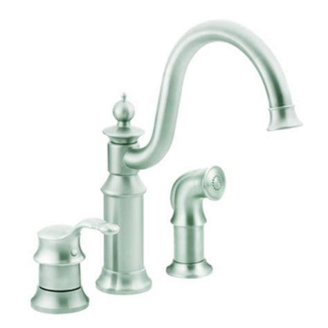 Moen Waterhill Kitchen Faucet Moen S711csl Waterhill One Handle High Arc Kitchen Faucet Classic Stainless Jhgdkdjhgkld