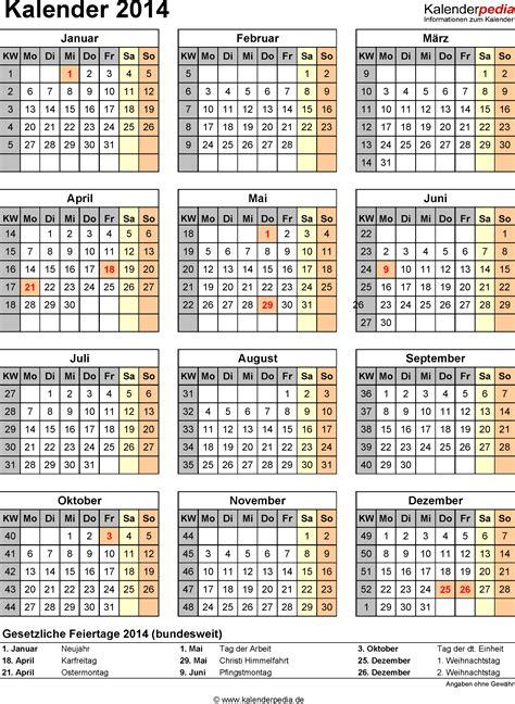 Schönherr Kalender 2014 Zum Ausdrucken Kalender Mit Kw My