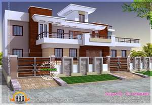 Modern Home Design India Modern Style India House Plan Kerala Home Design And