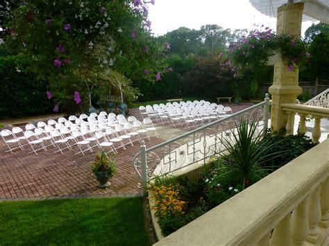 Wedding Ceremony Chair Setup by Ceremony Garden Photos La Mirage