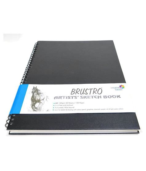 brustro artists sketch book wiro bound a4 brustro artists sketch book wiro bound a3 buy at