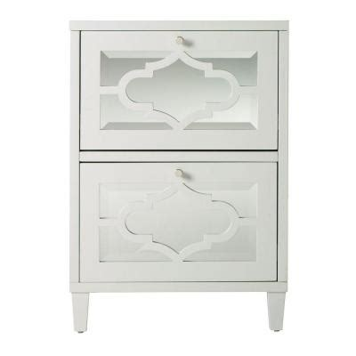 home decorators collection reflections 21 5 in w 2 drawer