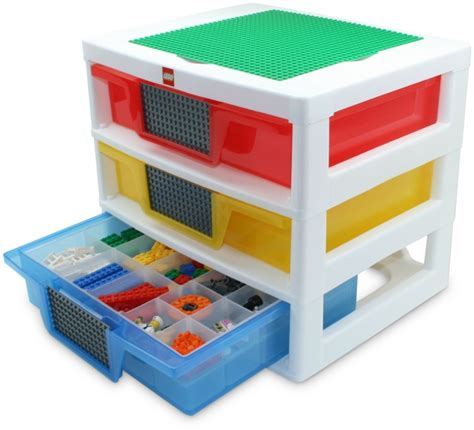 Lego Storage Drawer lego 5000248 1 3 drawer storage unit