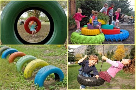 charming diy ideas how to reuse old tires diy playground