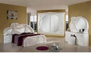 dreamfurniture white italian classic bedroom