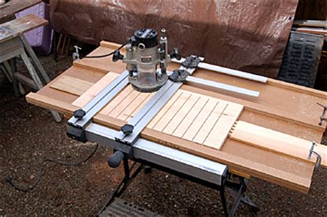 template router wood how can i repeatedly cut the same pattern using a