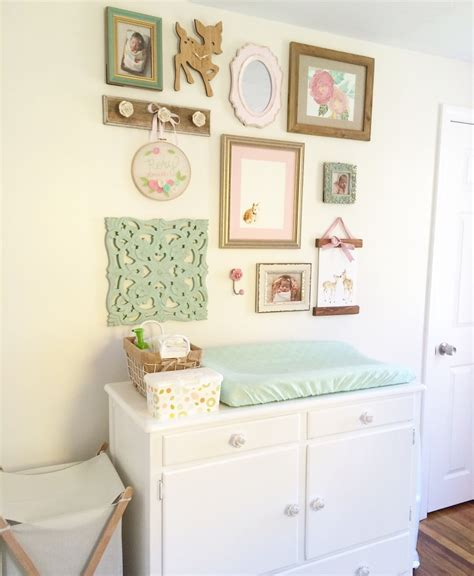 huge haul shabby chic room decor youtube rory lou s shabby chic mint pink and gold nursery