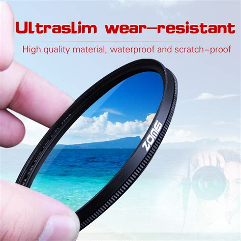 Filter Cpl 52mm Canon Nikon Sony zomei 52mm cpl circular polarizer polarizing filter for