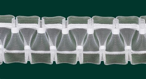 gardinenband fur schwere vorhange gardinenband faltenband smokband 50mm transparent variabel