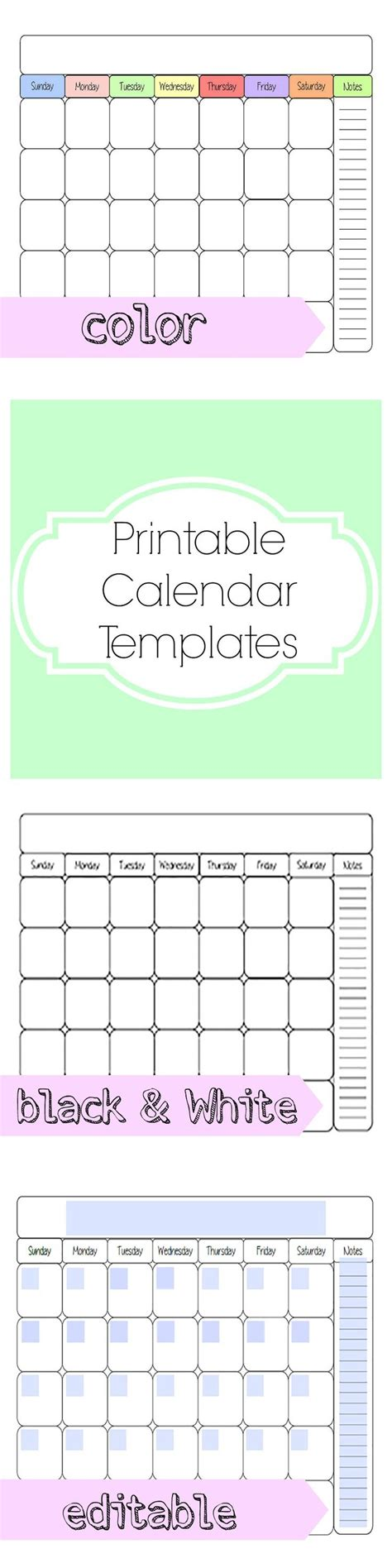 free family monthly calendar template 25 best ideas about printable calendars on