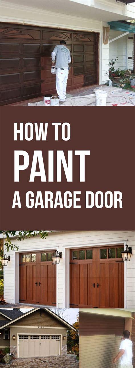 How To Update Garage Door by 25 Best Ideas About Garage Door Update On
