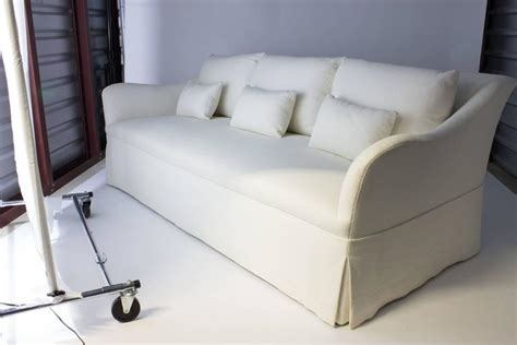 Custom Made Sofa Cushions by Custom Fabricated Sofa With Six Back Cushions In