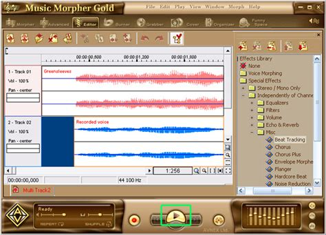 tutorial wave editor how to record a karaoke song advanced