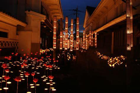Usuki Led ロマンティックな大分を満喫 デートにおススメの 竹あかり祭り xperience