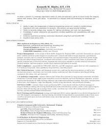 Electrical Design Engineer Sle Resume by Electrical Engineer Resume Kenneth Shultz