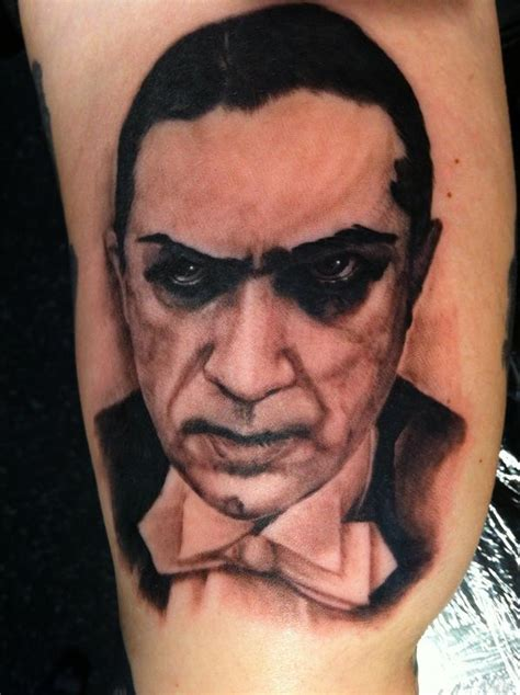blacklist tattoo bela lugosi by wade rogers tattoos