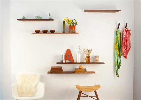 Thin Display Shelf 27 Quot Dash Thin Line Modern Display And Wall Shelves
