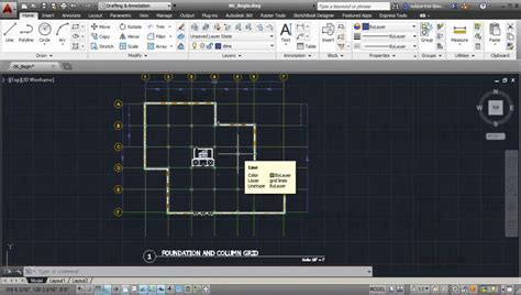layout grid autocad drawing a column grid in autocad avaxhome