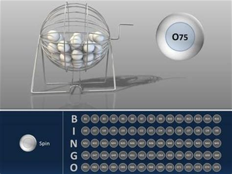 bingo powerpoint template bingo interactive a education powerpoint template from