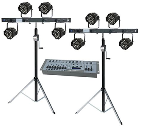 led stage lighting kit portable led stage stage lighting kits