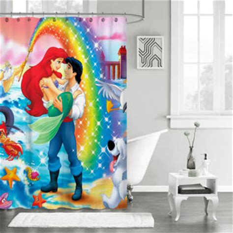 disney little mermaid shower curtain best little mermaid shower curtain products on wanelo