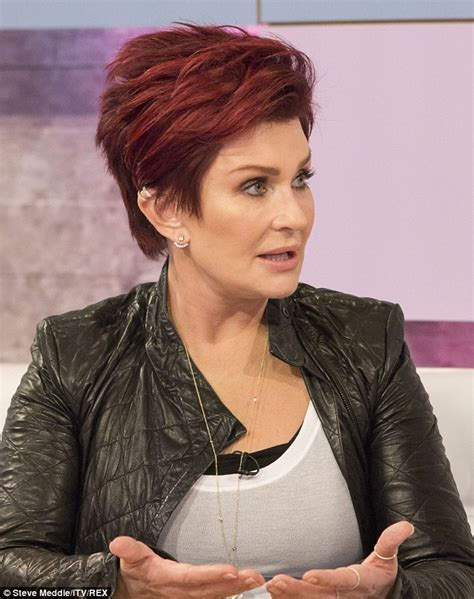 back view of sharob osbournes hair sharon osbourne claims simon cowell wants skinny and