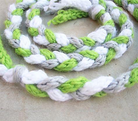 finger knitting patterns finger knitting scarf pattern a knitting
