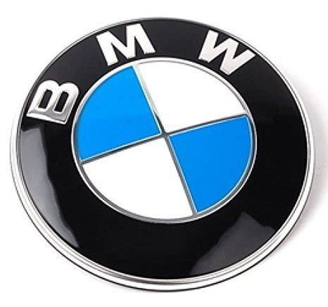 bmw replacement logo bimmer pw bmw emblem logo replacement for trunk 82mm