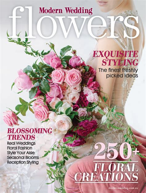 flower wedding magazine modern wedding flowers magazine issue 19 preview modern wedding