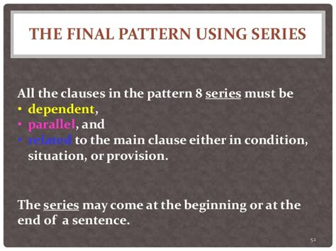 the pattern of conditional sentences twenty sentence patterns a brief description of patterns
