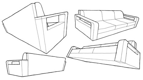 one point perspective sofa m how to draw a sofa in one point perspective sketch