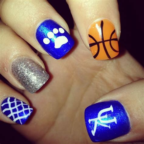 Nail Uk by Best 10 Basketball Nails Ideas On