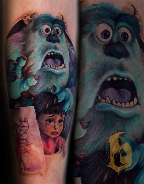 monsters inc tattoo shop sulley boo monsters inc bencarlisle malo malotattoo