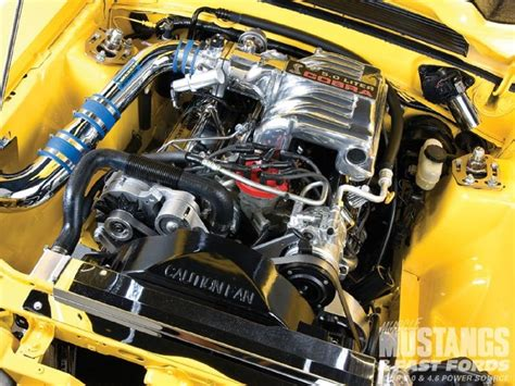 foxbody mustang with engine bay mustangs ideas engine mustangs and bays
