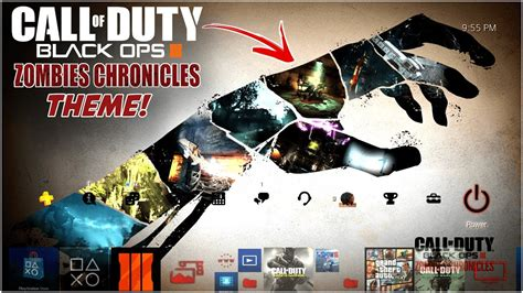 ps4 themes install install brand new limited edition zombies chronicles