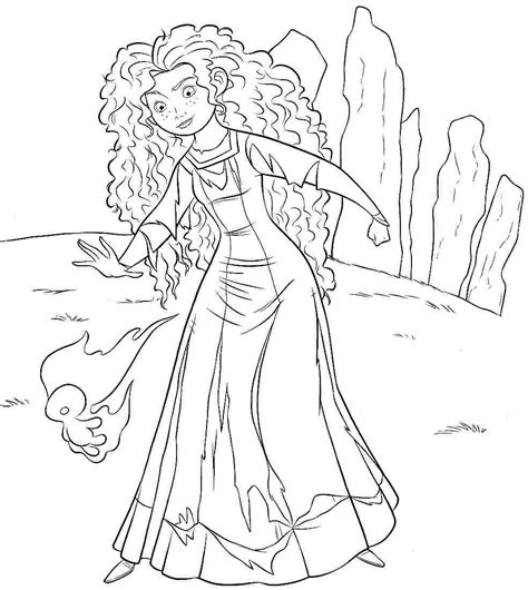 coloring pages disney brave free disney brave coloring pages printabel