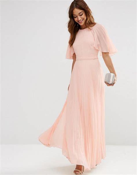Dress Levina Maxi asos asos pleated flutter sleeve caftan maxi dress at