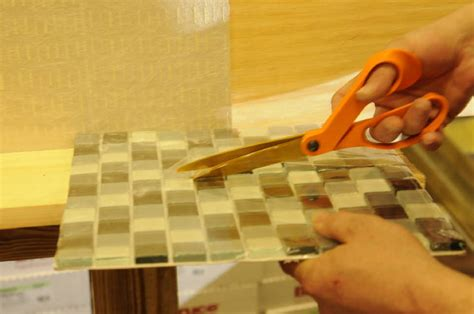 glass tile diy yes you can install your own backsplash