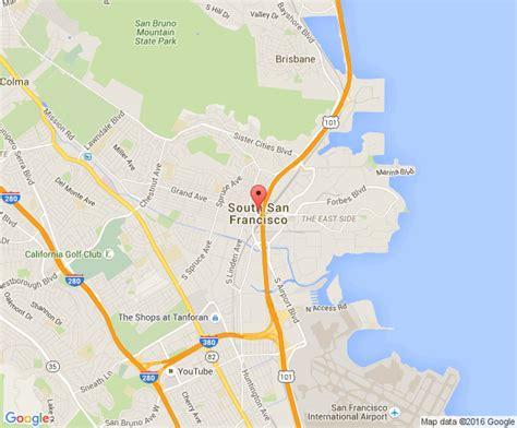 south san francisco kaiser map south san francisco commercial demolition company sv