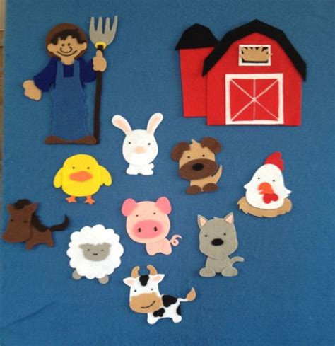 felt board stories this set includes 11 felt pieces to help you illustrate