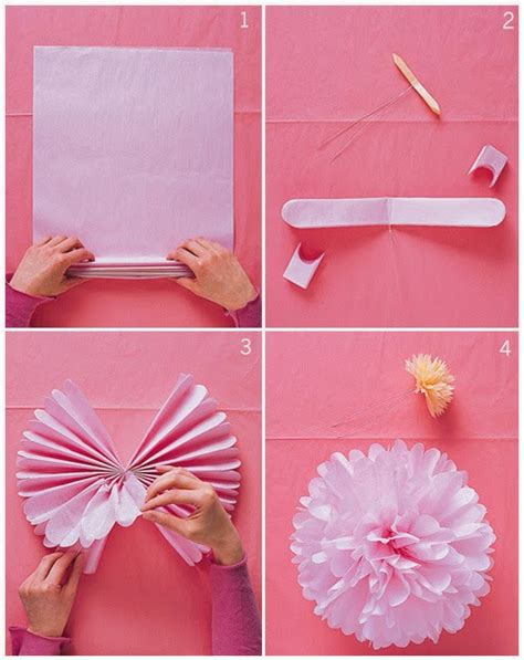 Paper Flowers Can Make - how to make easy origami flowers for 3d origami for