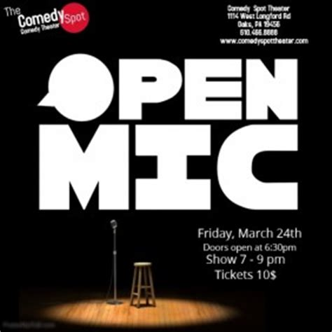 Customizable Design Templates For Open Mic Night Postermywall Open Mic Poster Template
