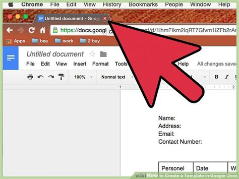 How To Create A Template In Google Docs 13 Steps With Pictures Docs Make Template
