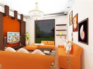 Orange Living Room Ideas Living Room Orange Ideas Simple Home Decoration