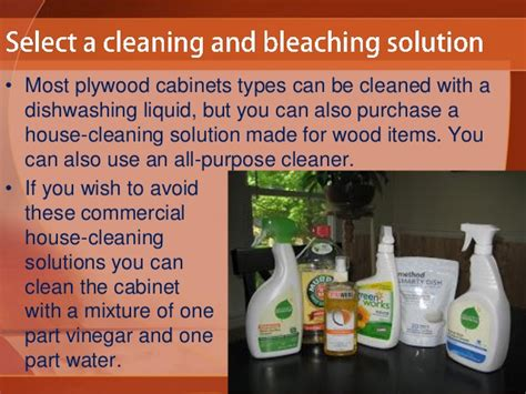 cleaning solution for kitchen cabinets how to clean plywood kitchen cabinets