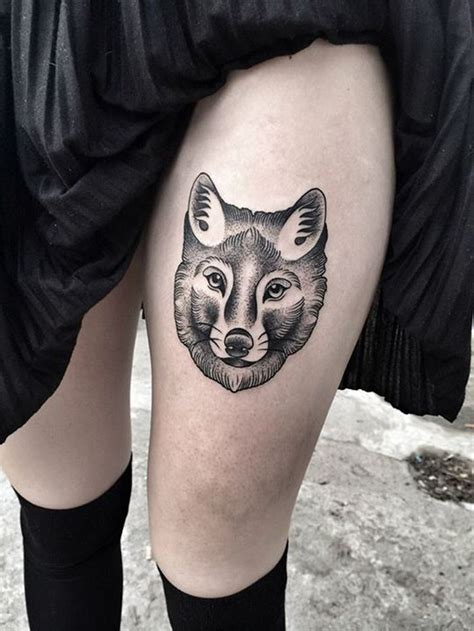 50 Of The Most Beautiful Wolf Tattoo Designs The Internet Wolf Tattoos For