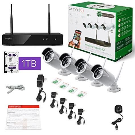 xmarto audio wireless security system 4ch