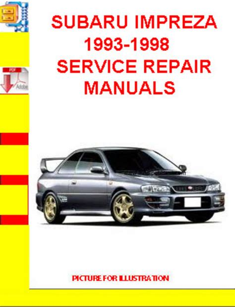 service manual 1993 subaru impreza engine workshop manual 1993 subaru impreza engine