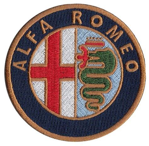 Patchwork Patches - alfa romeo embroidered patch